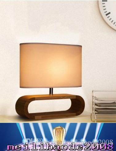 2018 new modern table lamp wood light led light linen cloth lamp 2018 new modern table lamp wood light led light linen cloth lamp shade oak wood oval base bed room office table lamp mmyy from meilibaode2008 aloadofball Choice Image