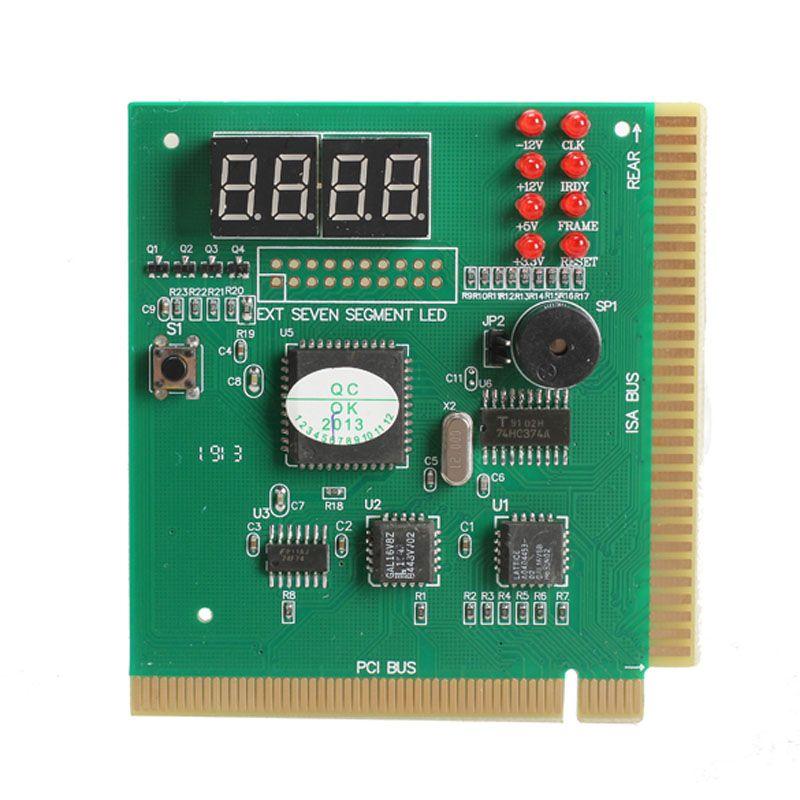 4 Digit LCD Display PC Analyzer Carte de diagnostic Carte mère Post Tester Computer Analysis Outils de mise en réseau de cartes PCI haute qualité