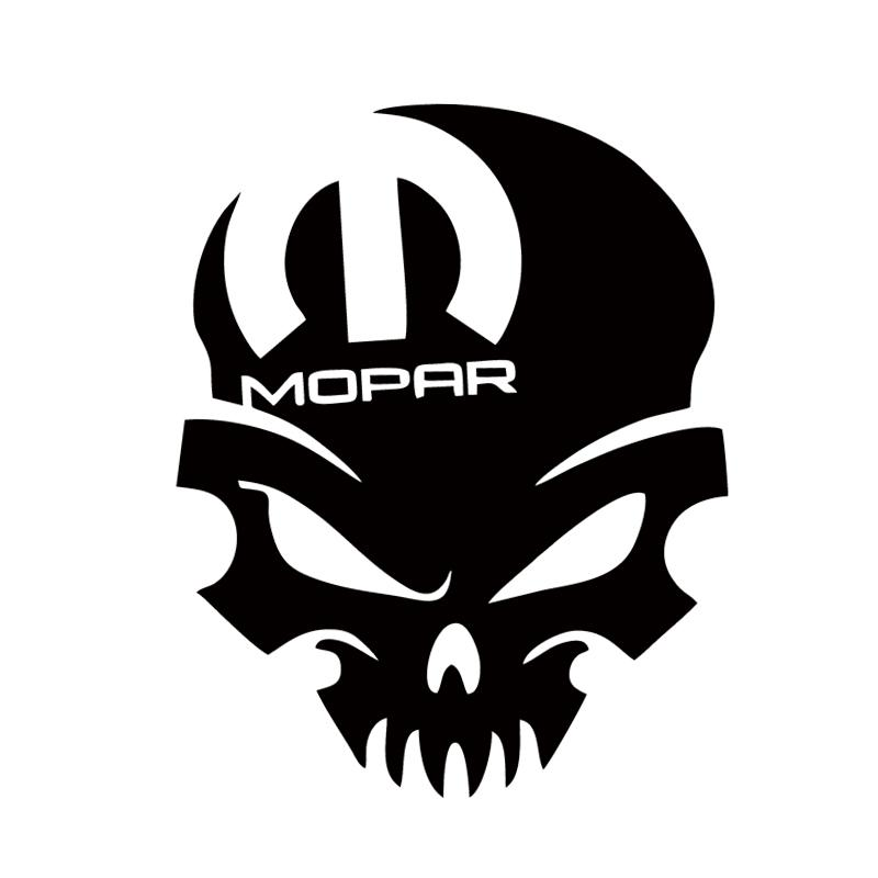 Hot Sale For Mopar Skull Vinyl Decal Sticker Graphic Window - Auto graphic stickersdiscount auto graphic decalsauto graphic decals on sale at