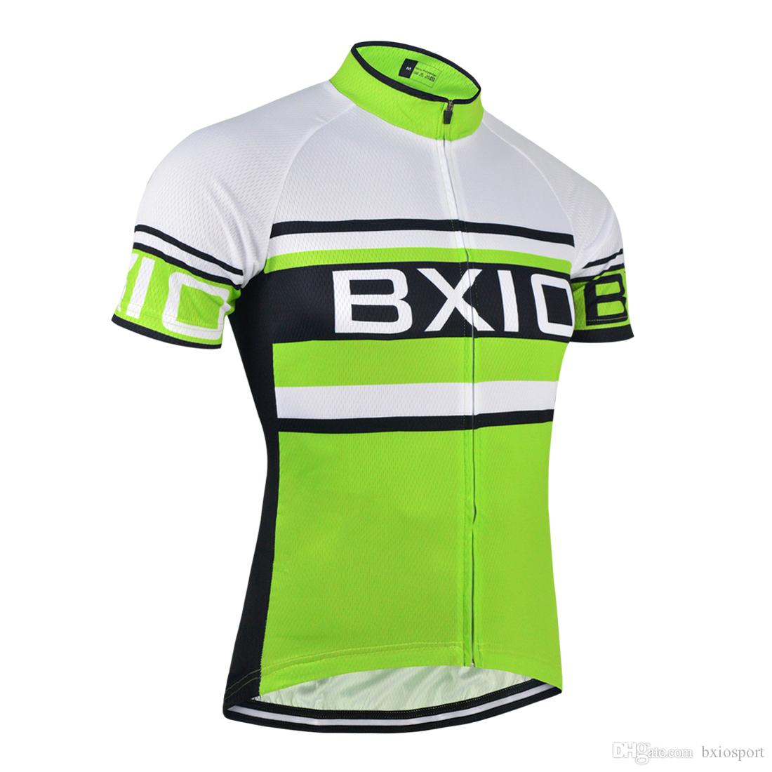 Bxio Brand Short Sleeve Cycling Shirts Bike Full Zipper Jersey Quick Dry  Bicycle Sport Wear Clothing Bicycle Shirts Ropa Ciclismo Bx 0 J Bicycle  Jerseys ... 3b4f6711f