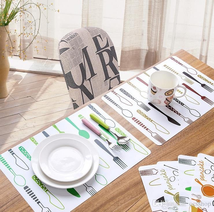 New Fashion Table Pad Insulation Tableware Is Easy To Clean The - Table pad store