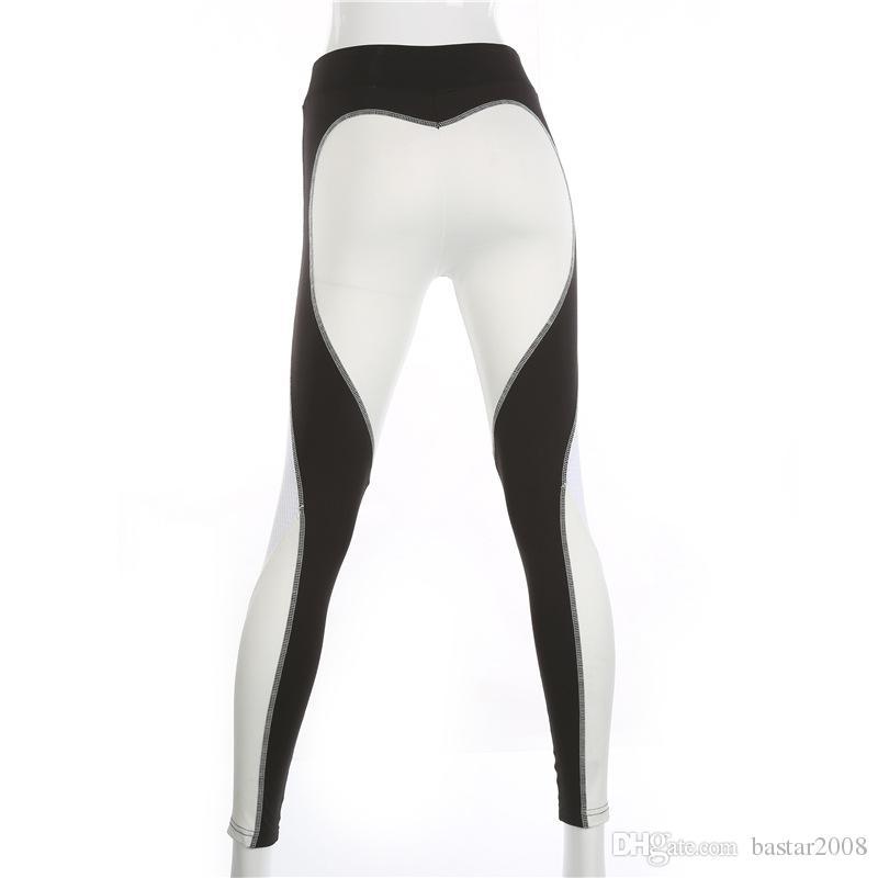 El más nuevo diseño de las mujeres Tight Gym Sportwear Niza Leggings de alta elasticidad mujeres Yoga pantalones Fitness Sexy Legging