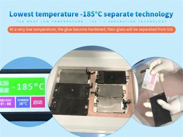 -185C TBK 588 LCD touch screen separatore S8 S8 bordo S7 bordo S6 bordo plus con telaio