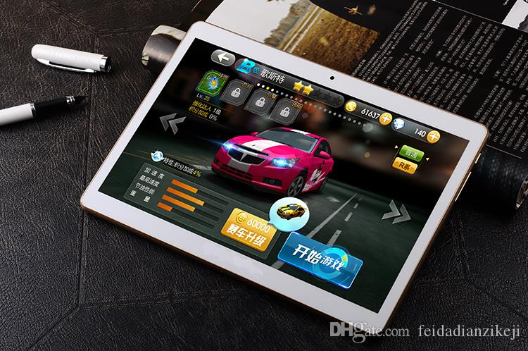 9.7-inch 4G LTE Network tablet octa-core dual SIM mobile phone call dual camera 8.0MP 64ROM IPS screen GPS WiFi Android Tablet PC 10