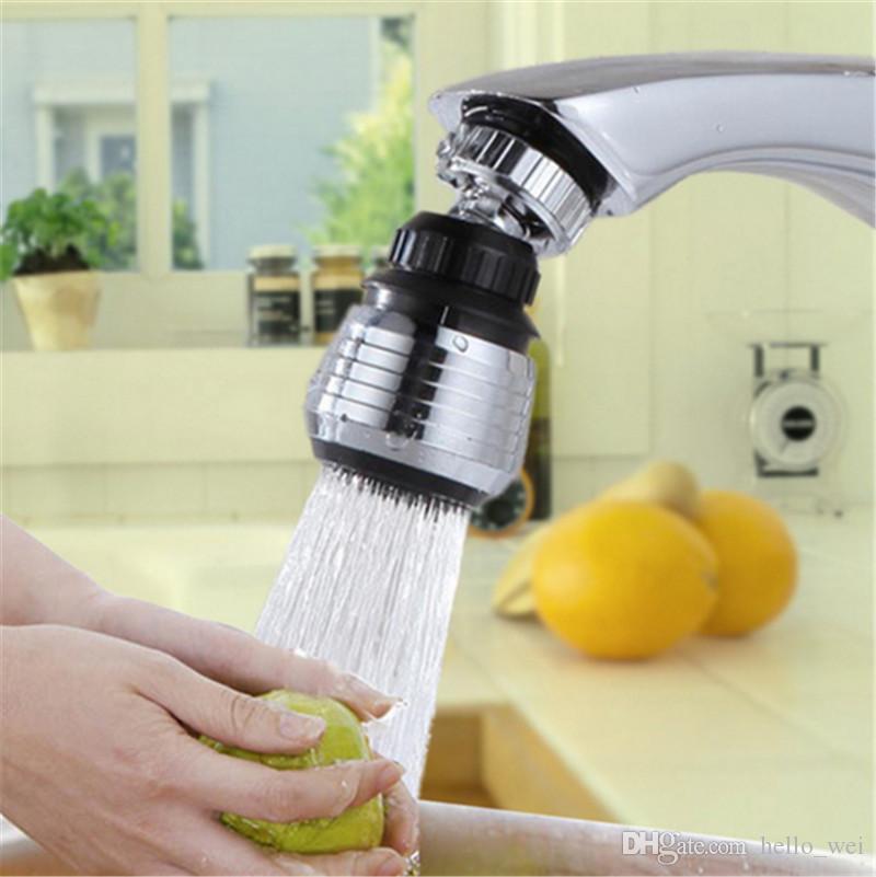 360 Drehen Swivel Wasser Sparen Tap Belüfter Wasserhahn Düse Filter Küche