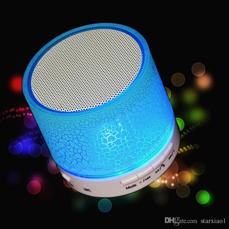 Universal HiFi wireless Bluetooth Speaker Music Sound Box Subwoofer Mini Portable LED Speaker hand free for Mobile Phone TF slot MP3 Player