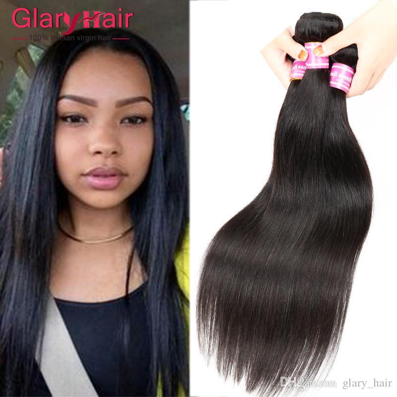 Real Quality 100g Cheap Brazilian Hair Bundles Virgin Brazilian Straight  Human Hair Extensions Peruvian Malaysian Indian Human Braiding Hair  Wholesale Hair ... ae850f771760