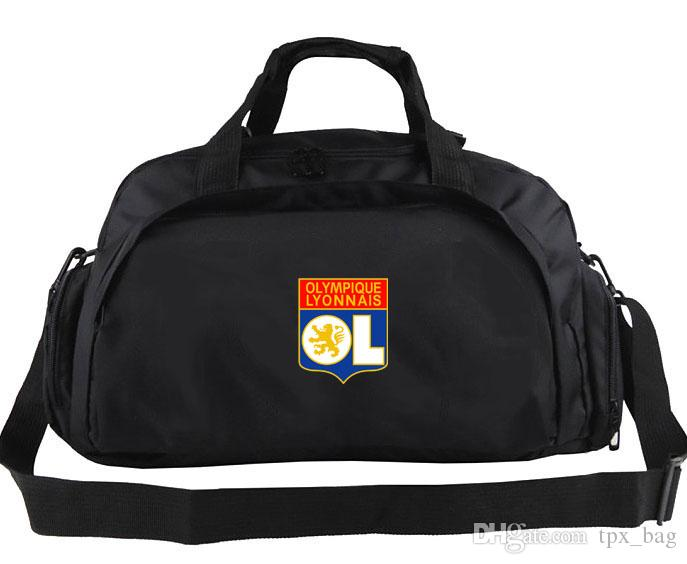 df4609d3a6c0 ... Duffel Bag Lyon Club Logo Tote Long Jump Backpack Football Luggage  Exercise Shoulder Duffle Outdoor Sling Pack Buy Bags Online Bags Online  Shopping From ...