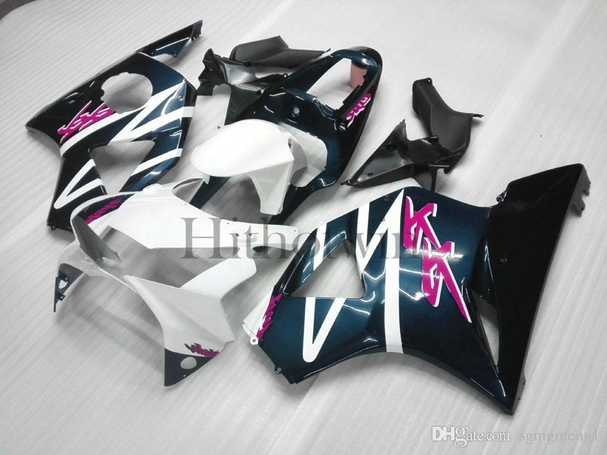 ABS Plastic Bodywork für Honda CBR954RR 2002-2003 CBR900 CBR954 RR weiß blau schwarz Aftermarket Verkleidung