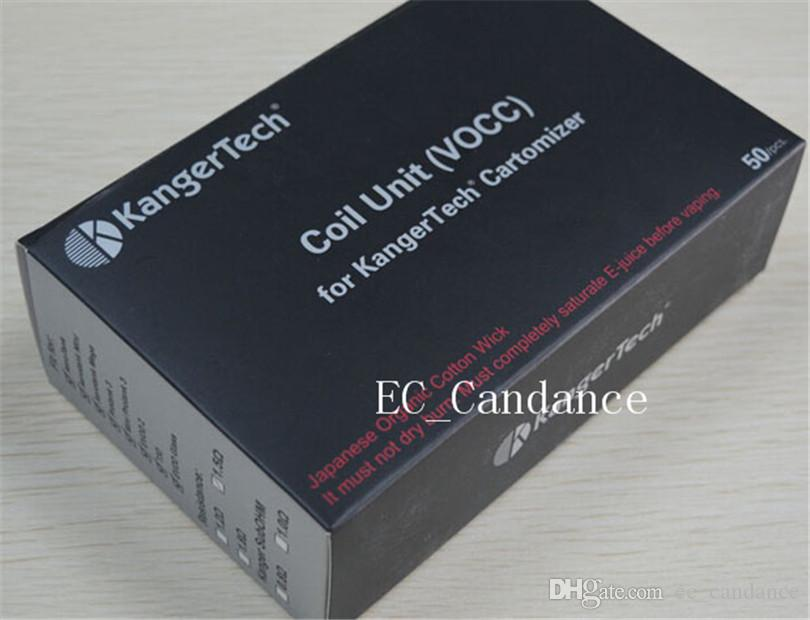 Kanger vocc bobine di ricambio dual coil 1.5 1.8ohm kangertech Aerotank mini protank3 genitank vertical occ