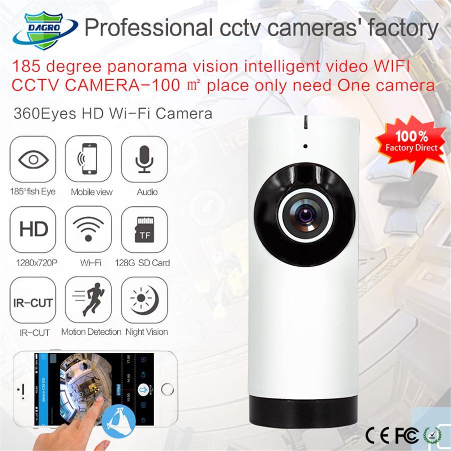 720 P Home Camera Night Vision Monitor de Vídeo IP / Rede Sem Fio APP  Vigilância Home Security Internation Versão EUA / UE