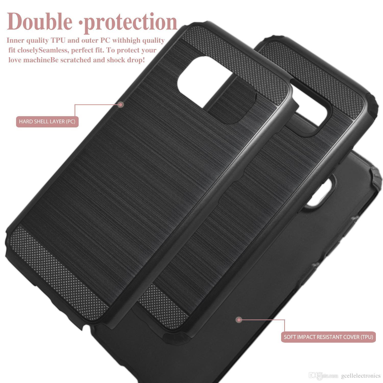 Матовый дизайн Гибридный Доспех сотовый телефон дела для Samsung Galaxy Note 10 Plus S10 A20 A30 Iphone 11 Pro Max Тонкий мобильный чехол