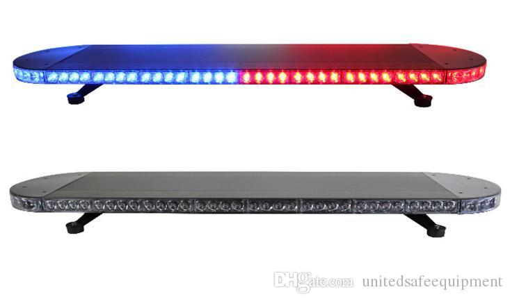 Бесплатная доставка 48 дюймов супер яркий грузовик буксировки lightbar / полицейская машина lightbar сигнализация аварийного транспортного средства lightbar