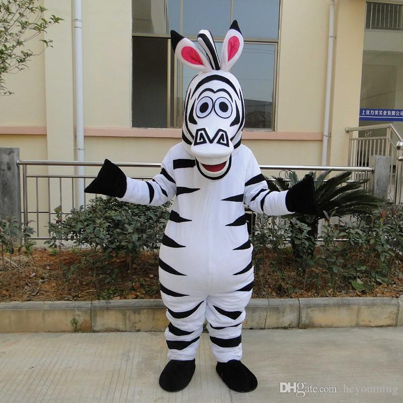 High Quality Of The Adult Size In Madagascar Zebra Mascot Costume Madagascar Marty Mascot Costume Movie Costumes Hollywood Costumes From Heyouming ... & High Quality Of The Adult Size In Madagascar Zebra Mascot Costume ...