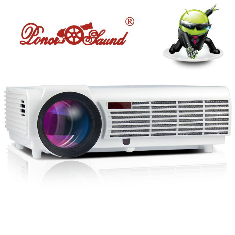 5500 Lumens Smart Lcd Tv Led Projector Full Hd Support: Wholesale 5500 Lumens Smart Android 4.4 Lcd Tv Led