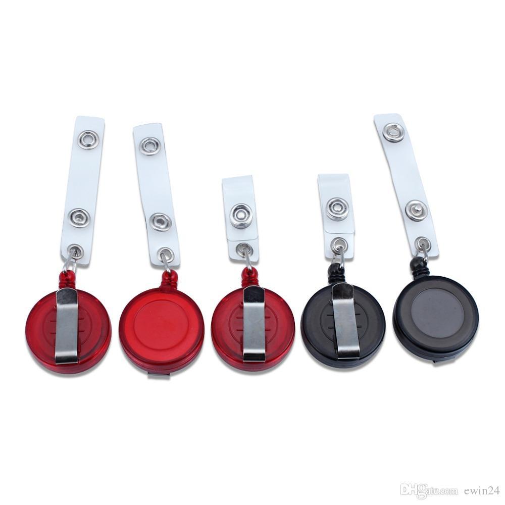 Выдвижной держатель значков ID значок катушки клип на держателях карты ассорти цвета