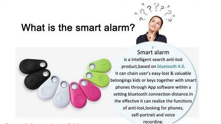 Mini Téléphone Sans Fil Bluetooth 4.0 GPS Tracker Alarme iTag Clé Finder Enregistrement Vocal Anti-perdu Selfie Obturateur Pour iOS Smartphone DHL