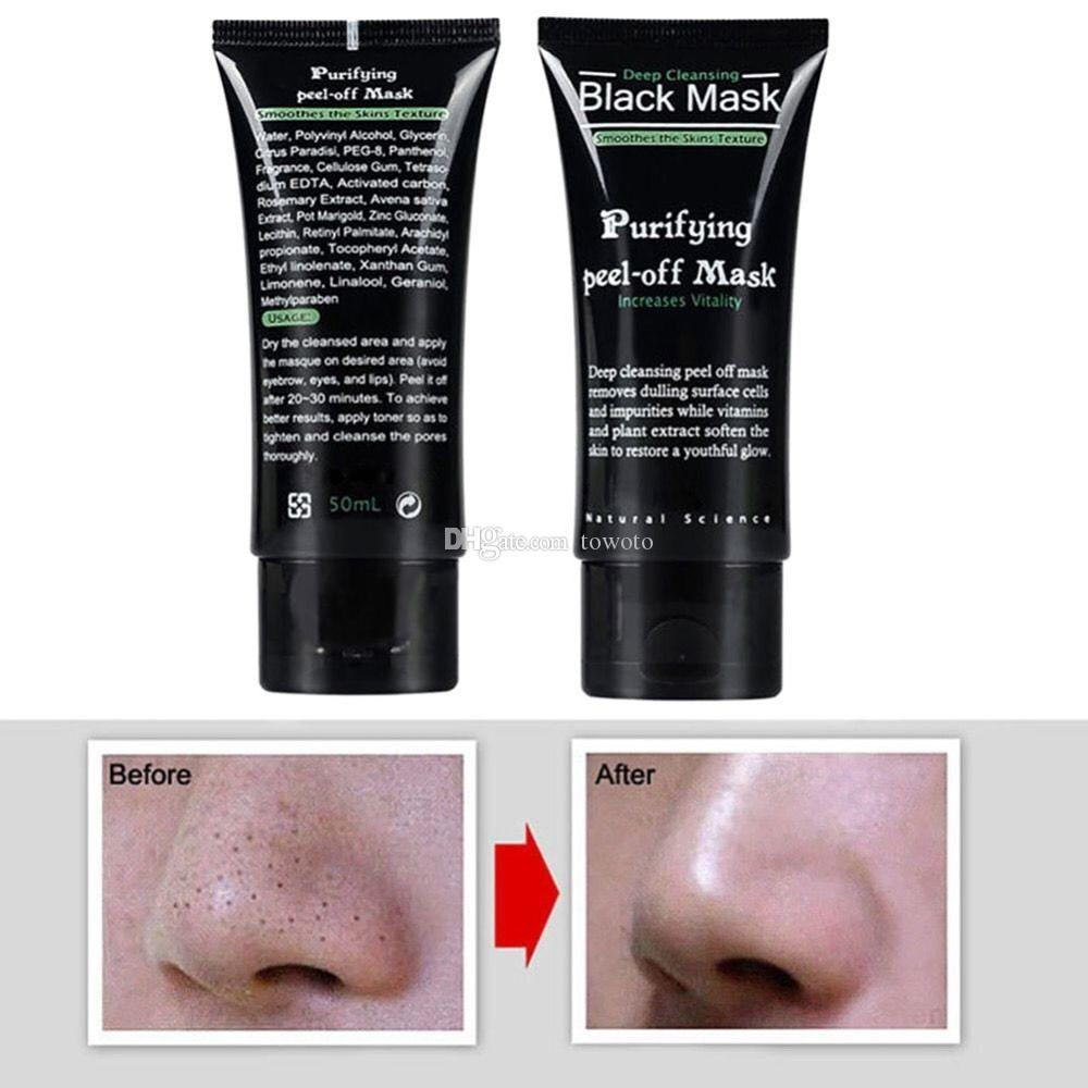 2017 SHILLS Deep Cleansing Black Face MASKS 50ML Remove