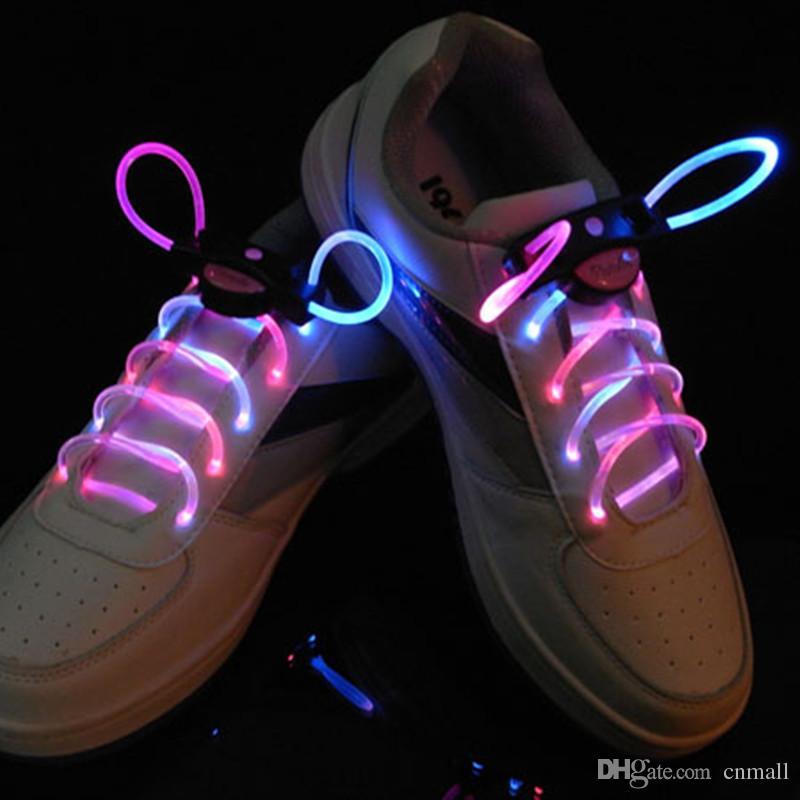 55d678bd7fe76 First Generation Luminous Shoelace LED Flashing Shoelace Light up Laser  Shoelaces Colorful Fashion Led Football Shoelace