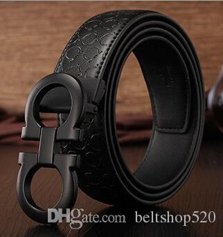 New Black Color Luxury High Quality Designer Belts Fashion Geometric ... fd6187c709