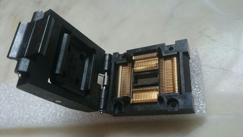 2018 yamaichi qfp100pin ic test socket ic51 1004 814 2 0 65mm pitch rh dhgate com