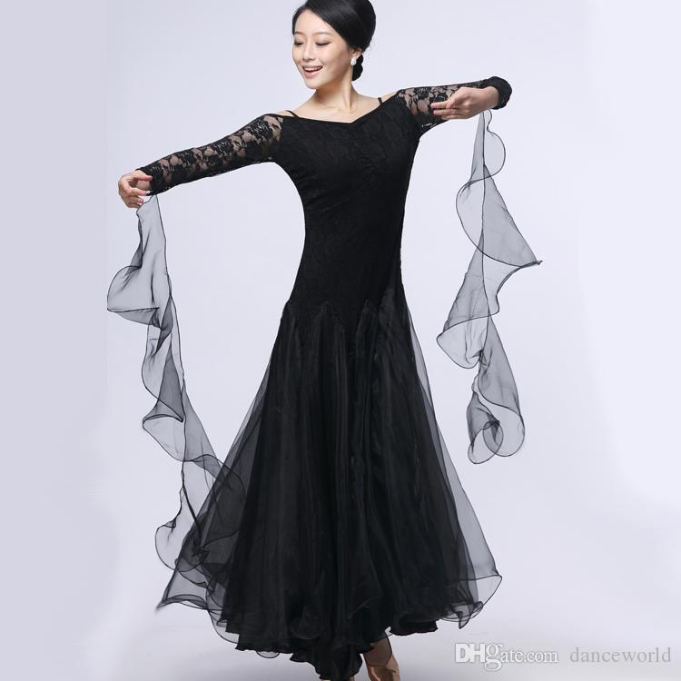 0ad2c79495c6 2019 Woman Ballroom Dance Competition Dresses Customize Ballroom Dress For Ballroom  Dancing Modern Dance Costume Waltz Dress Tango From Danceworld, ...