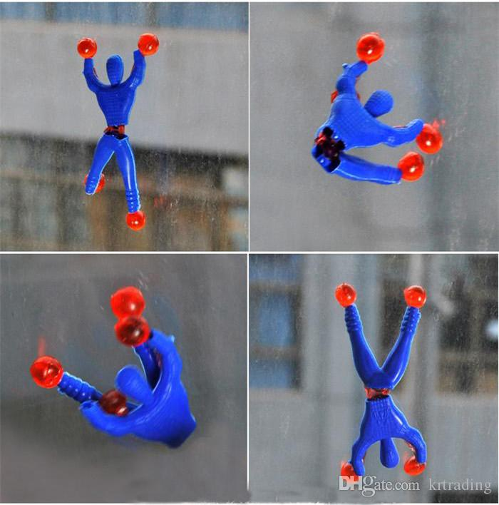 Viscosity Climbing Walls Spider Men toys Turn Jump Elf Toys Activity Dolls party props gifts sales promotion gifts cheap toys