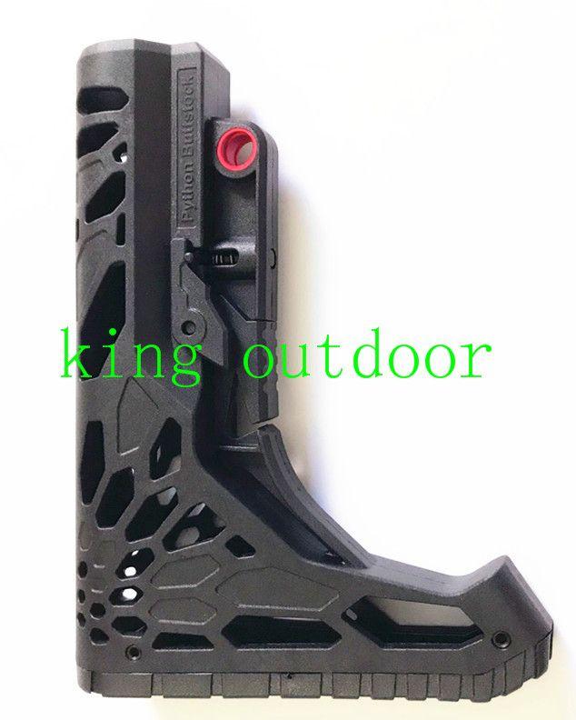 Yeni Hafif Stoklar Taktik Kompakt Tip Buttstock AR15 / M4 / M16 Carbines Için Karabina stok
