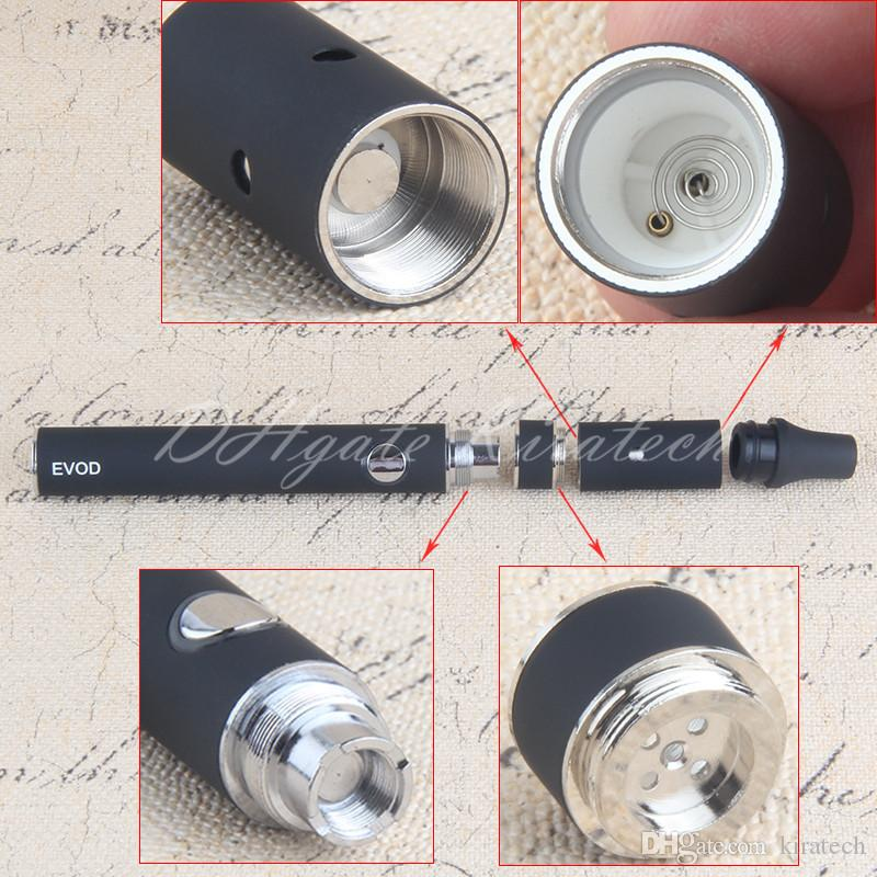 eVod Mini Ago Vape kit Herbal Pen Vaporizer Dry Herb Blister Starter Kits 650mah Battery Brush USB Charger Wholesale