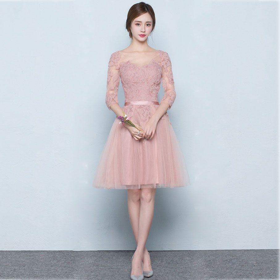 Knee Length Tulle Dress