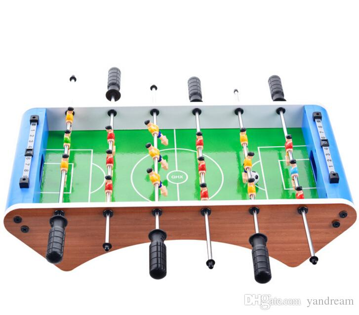 New large six - pole table soccer table children 's toys desktop soccer sports intelligence board games Boy girl Christmas gift toy