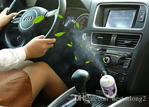 12V car steam humidifier Mini Car Aromatherapy Humidifier Car Charger with Fresh Purification Function mist maker fogger