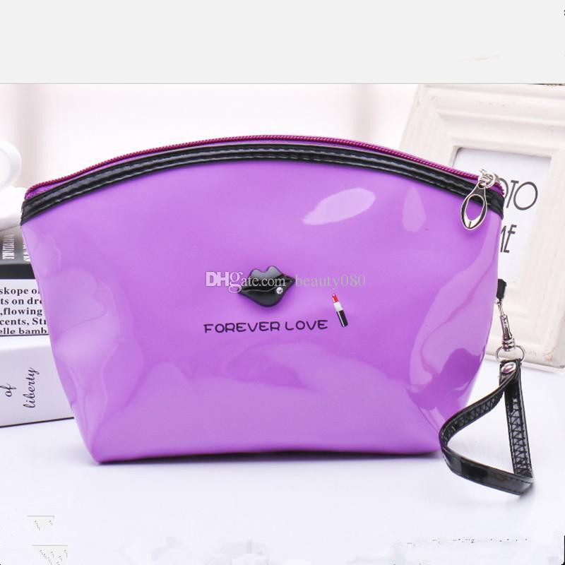 PU sac cosmétique pratique dames portable maquillage cosmétique sac cosmétique pas cher sac cosmétique MB-19 livraison gratuite!