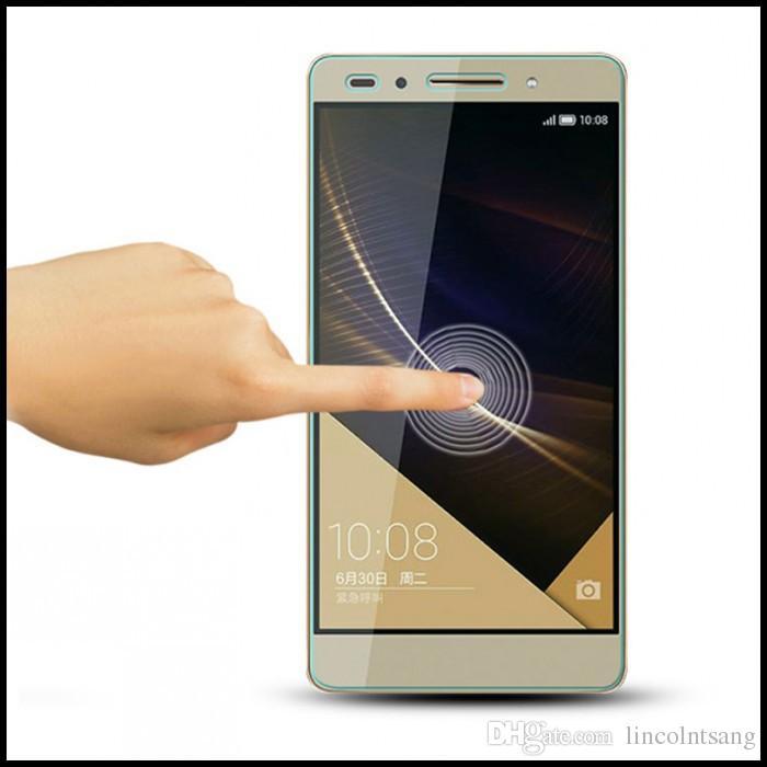 Temperli Cam Filmi Patlama Korumalı Ekran Koruyucu Için Huawei G521 / G610 / G620 / G628 / G630 / G660 / G730 / G7 / G7 ARTı / G8 200 adet