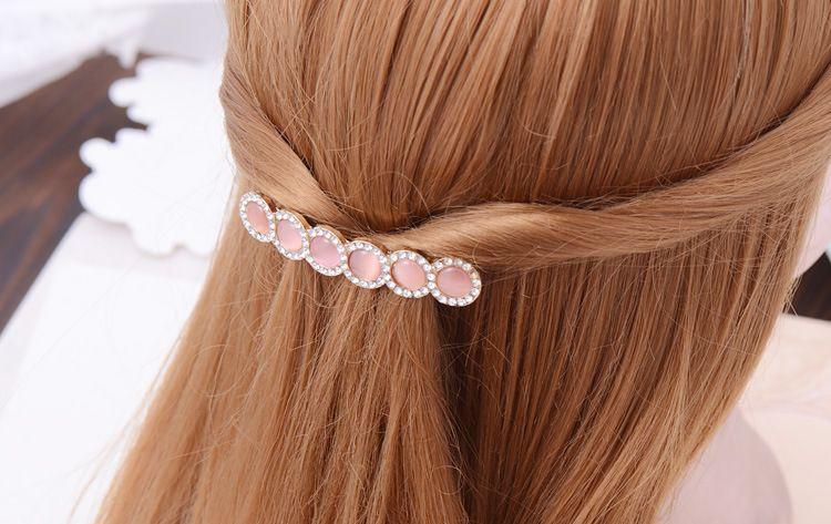 Sıcak Kadın Kızlar Bling Şapkalar Kristal Rhinestone Saç Klip Barrette Tokalar Tokalar Firkete hairband Şapkalar aksesuarları