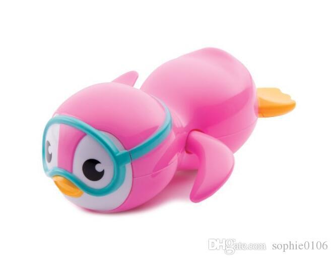 طفل حمام سباحة البطريق لعبة طفل رضيع الاستحمام اللعب الصيف فتاة بوي الاستحمام اللعب