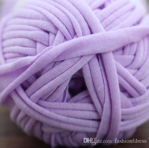 Şeker Için Renkli Tığ Iplik DIY Fantezi Iplik El Örgü Kalın Iplik Polyester katoen garen voor haken