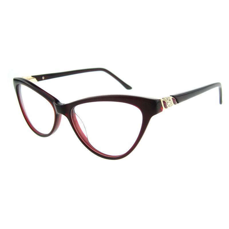 New Thin Frames Design Young Plain Glass Cute Art Stylish Cat Eye ...