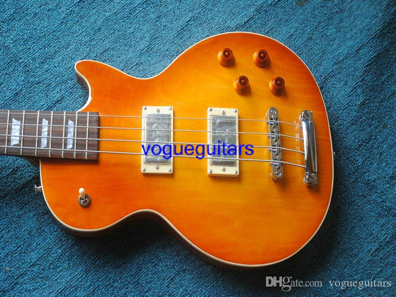 Wholesale Lemon 4 Strings Electric Bass High Quality OEM Musical instruments