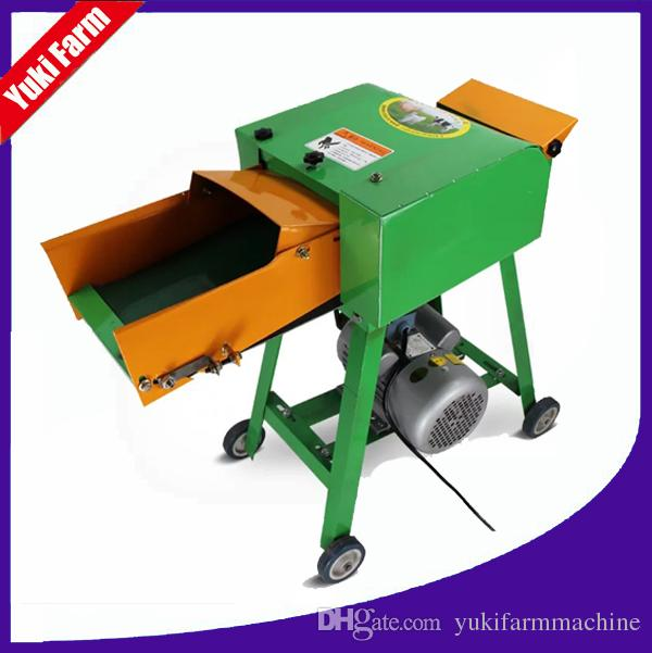 dry wet chaff cutter machine mini chaff cutter grass chopper machine for  animals feed straw shredder corn stalk chopper
