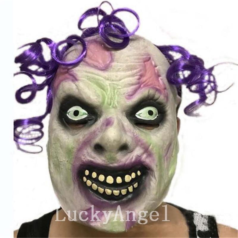 All'ingrosso demone parassita maschera zombie latex equipaggiamento vampiro cranio festa di halloween spaventoso maschere terroristiche horror mascaras latex realista
