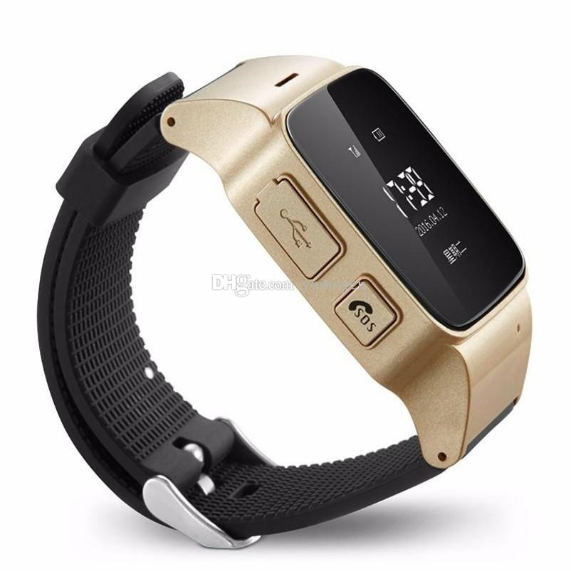 Für alte Männer Frauen iOS Android-Telefone Smart Watch D99 ältere Smart Watch Telefon SOS Anti-verlorene Gps + Lbs + Wifi Tracking Smart Watch
