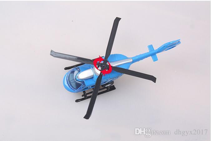 IN STOCK Toys Alloy Pull Back Helicopter Toys Aviation Military Model Toys for Children Kids wholesale