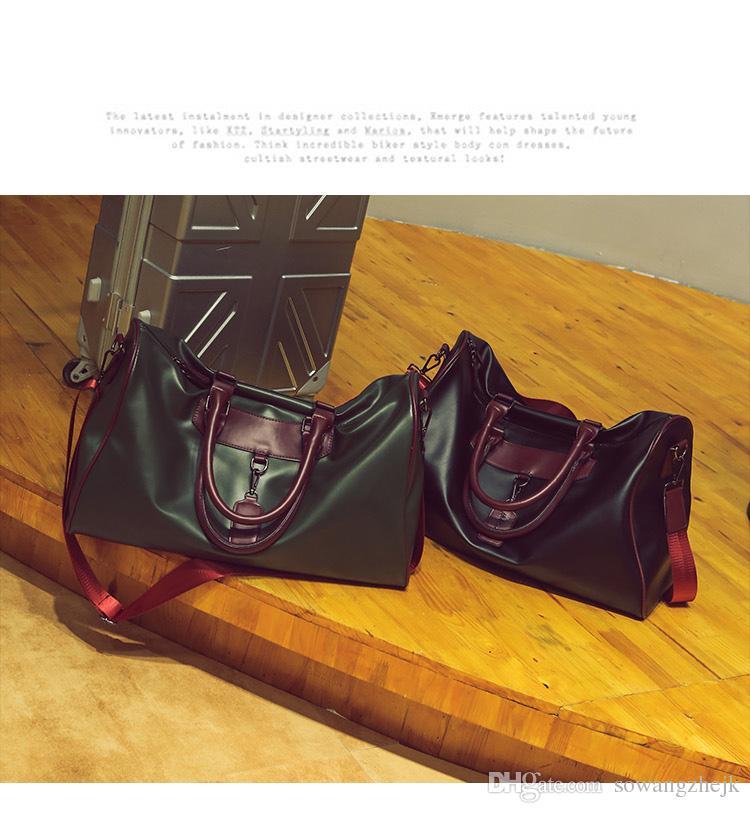 2017 الرجال النساء للجنسين حقيبة سفر واق حقيبة ، العلامة التجارية مصمم حقائب الأمتعة حقيبة رياضية سعة كبيرة