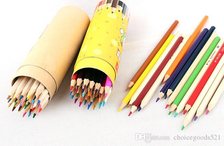 Painting color pencil 12/18/24/36/High quality drawing painting colors pencil artist supplies sketch Color Pencil Free Delivery