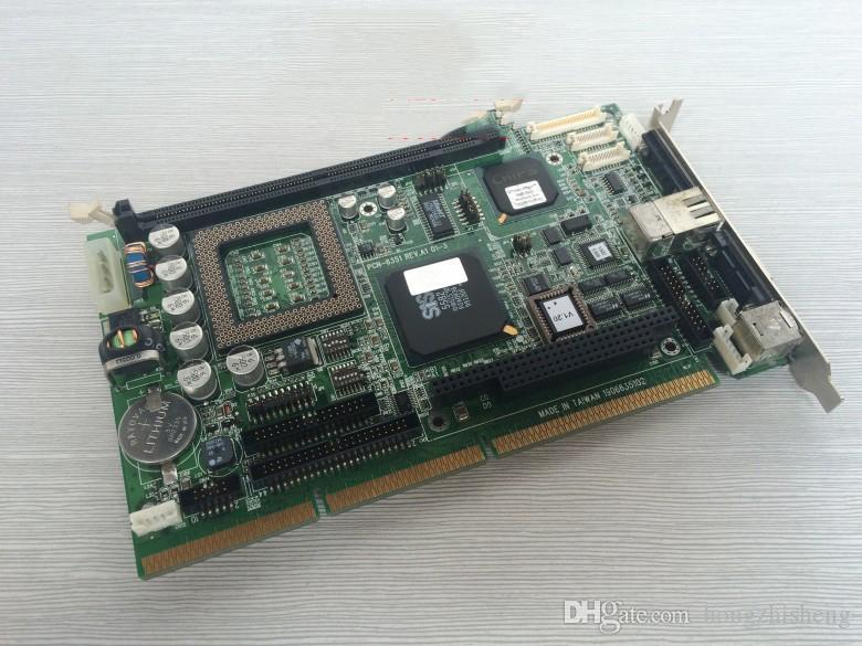 Advantech endüstriyel bilgisayar anakartları PCN-6351 REV. A1 kurulu 100% test çalışma, kullanılmış, warran ile iyi durumda