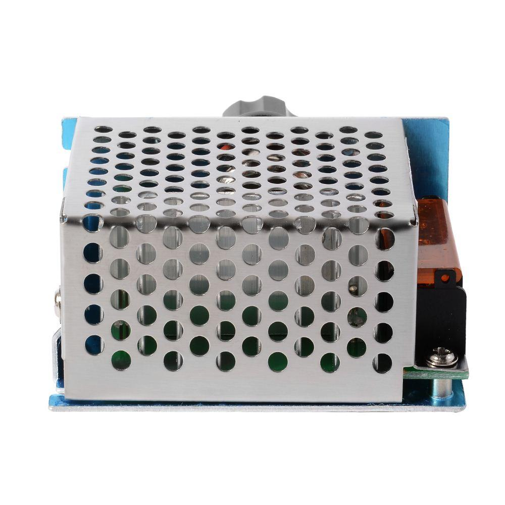 4000W 220V AC SCR Voltage Regulator Dimmer Electric Motor Speed Controller TE474