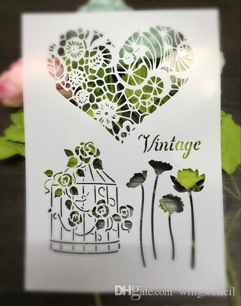 Drawing Stencils Masking Template For Scrapbooking,Cardmaking ...