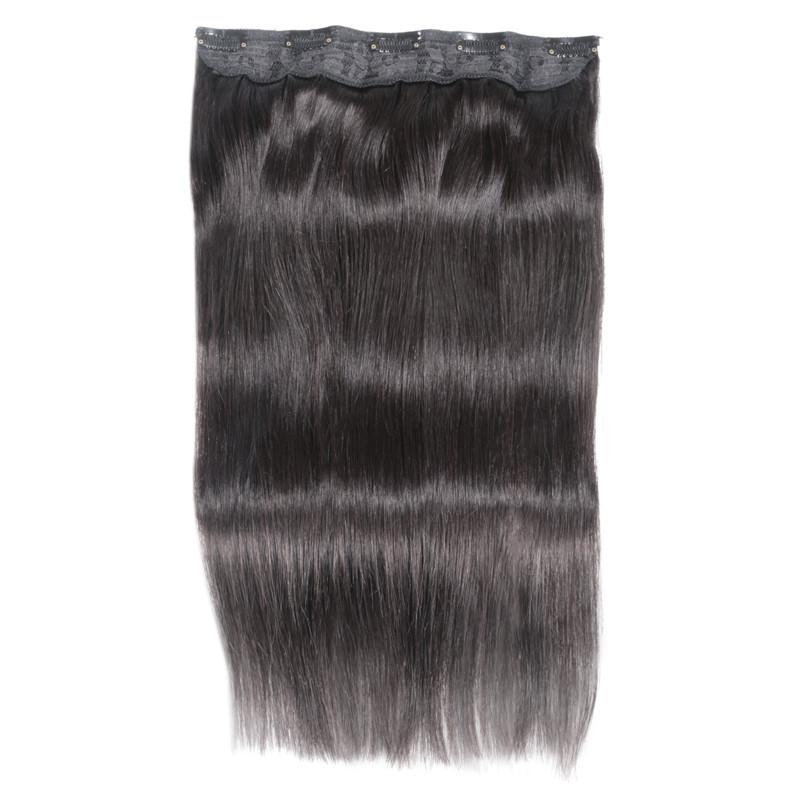 Elibess Hair 14 24 Straight Full Head Clip In Machine Made Remy Hair