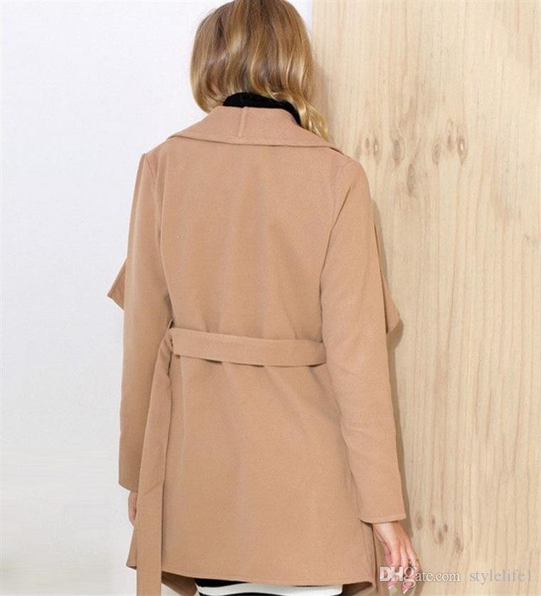Women winter jacket 2016 coat replacement Leopard grain Outwear Women Winter Outwear Double-sided woolen clothing